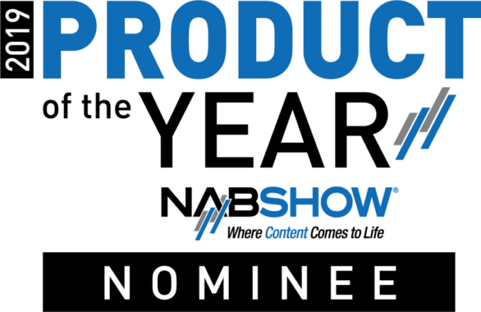 Cinamaker 2.5 Nominated for Product of the Year -Come See us at NAB